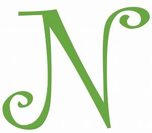 letter n initial vinyl car decal window sticker monogram With adhesive monogram letters