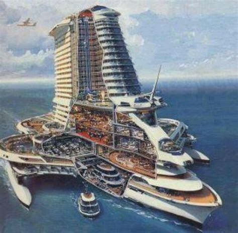 Cool Cruise Ship Concept. | Boats | Pinterest