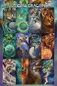 2018 Zodiac Dragons 2018 Zodiac Dragon Zodiac Zodiac