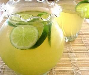 receta de rica agua de limón