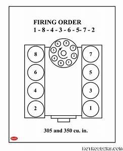 Chevy 305 Firing Order Diagram