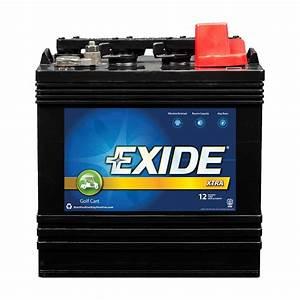 Batterie Golf 4 : exide golf cart battery xtra gc8v 110so the home depot ~ Carolinahurricanesstore.com Idées de Décoration