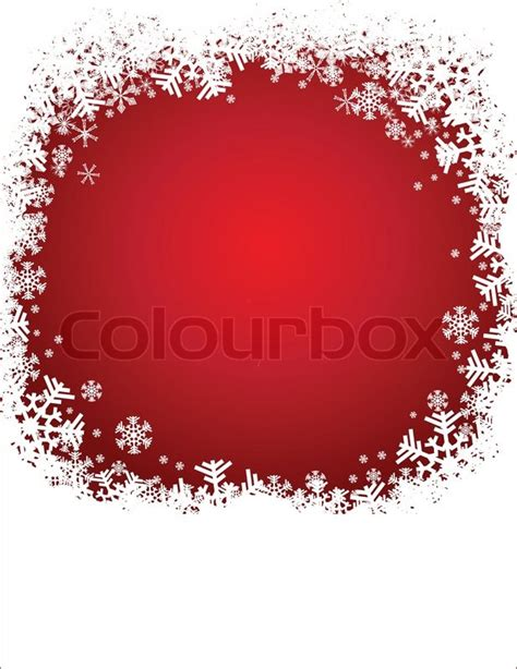 christmas red background  stock vector colourbox