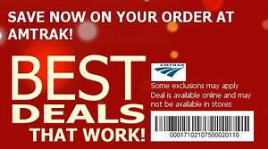 Amtrak Promo Codes: Save w/ 2015 Promotion Codes & Discounts