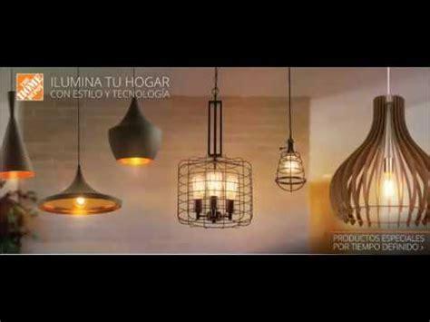 catalogo home depot iluminacion noviembre diciembre