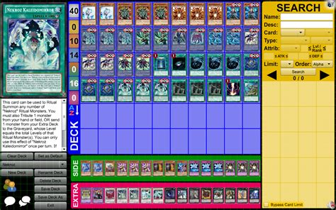 yugioh deck building tips nekroz deck guide discussion yugioh