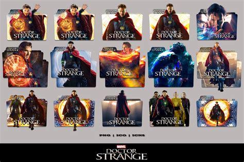 A Pack Of 64 New Folder Icons Doctor Strange 2016 Folder Icon Mega Pack By Bl4cksl4yer