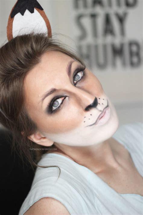 fox makeup tutorial  halloween  forest