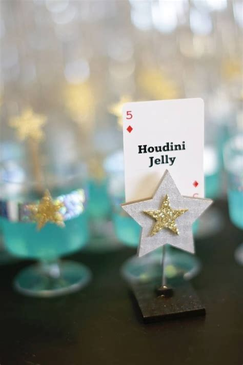 birthday party ideas for popsugar magic show place settings www spaceshipsandlaserbeams
