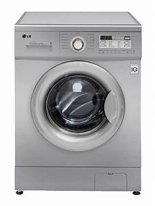 LG FRONT LOADER WASHING MACHINE (SILVER) MODEL: F10B8QDP5 ...