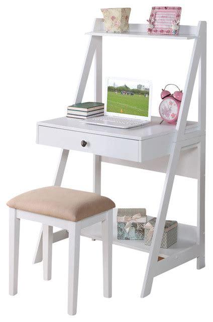 kids desk for two adarn inc 2 piece white big drawer storage shelf student