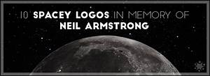 10 Space Inspired Logos in Memory of Neil Armstrong