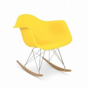 Fauteuil Charles Eames : fauteuil type charles eames rar jaune discount design ~ Melissatoandfro.com Idées de Décoration