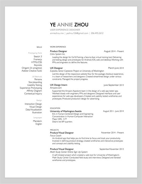 Design Resume by 10 Amazing Designer Resumes That S Bar