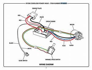 Reversing Direction Of Battery String Trimmer