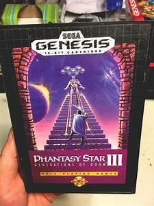 Phantasy Star 3   Sega Genesis