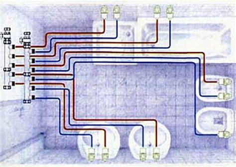 Impianto Idraulico Bagno by Schema Impianto Idraulico Bagno Ristruttura Interni