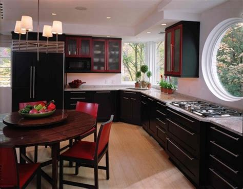 simple elegant asian inspired kitchen design ideas