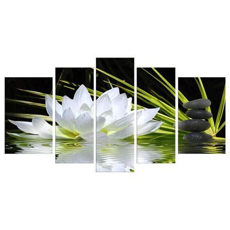 store bateau pour cuisine tableau toile fleurs achat vente tableau toile fleurs