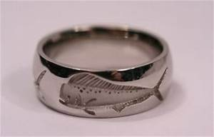 mens rings mens wedding bands fish With mens fishing wedding rings