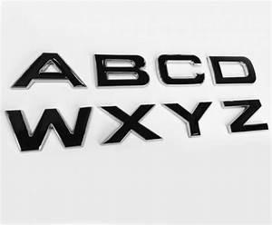 Range rover size 3d chrome with black infill bonnet or for Range rover letters custom
