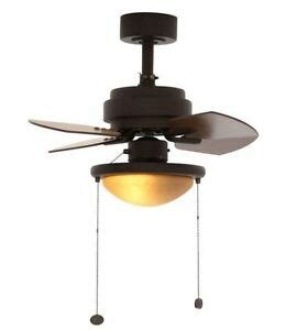Inch Bronze Ceiling Fan Blades Reversible Indoor