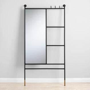 floor mirror ladder large mirrors and leaning floor mirrors world market