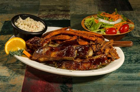 bbq dinner bbq specialties ribs bbq combos georges seafood bbq restaurant in plymouth nh