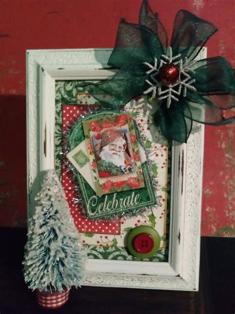 unique christmas picture frames ideas  pinterest