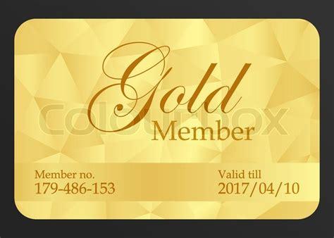 Golden Member Card With Registration ... Adhesive Back Business Card Holder Builder Ideas Visiting Background Design Software Best Blank Template Fnb Black Credit Download Decorative Borders