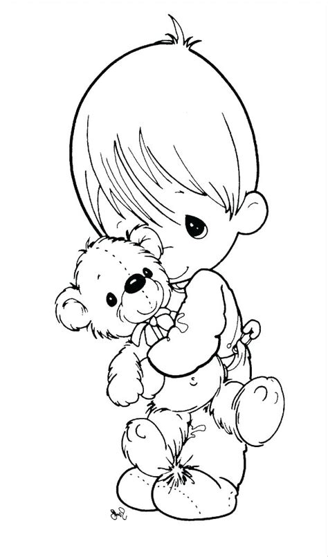 precious moments praying coloring pages  getcolorings