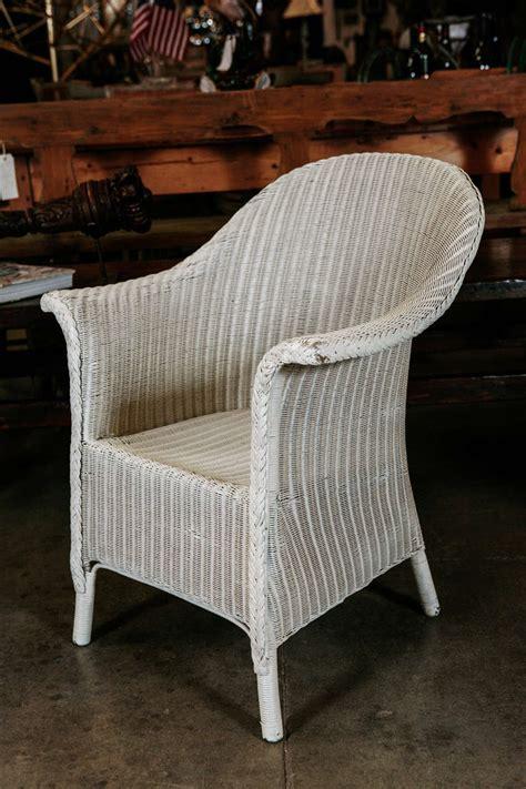 pair wicker arm chairs by lloyd loom at 1stdibs