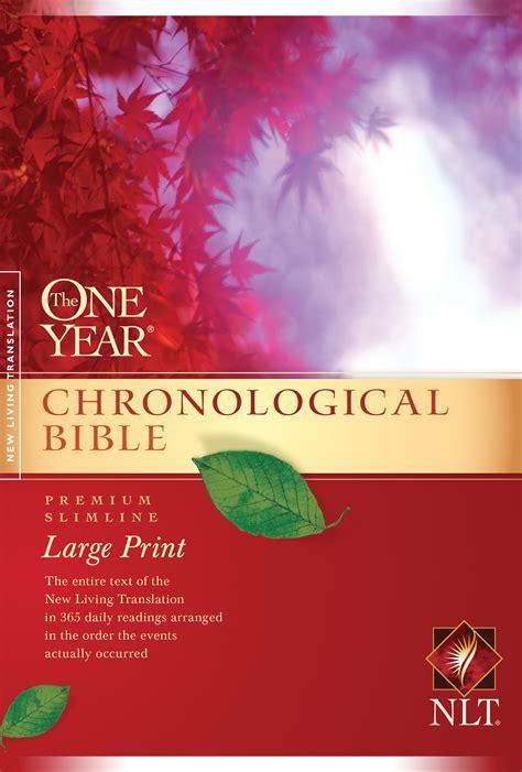 tyndale   year chronological bible nlt premium