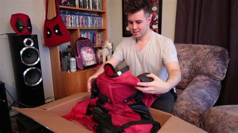 Unboxing Replica Deadpool Suit From