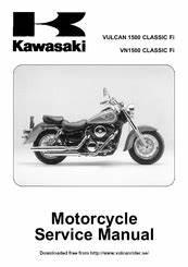 Kawasaki Vn1500 Classic Fi Manuals