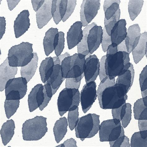 Indigo Rain Abstract Blue And White Painting Mixed Media