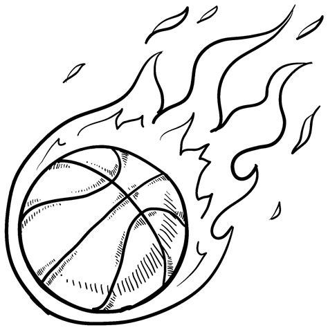 basketball  color  kids basketball kids coloring pages