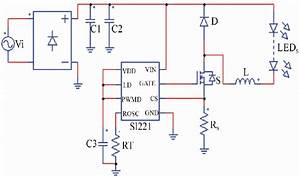 Schematic Diagram Of The Studied Led Driver