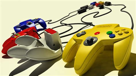 wallpaper controllers yellow retro games technology