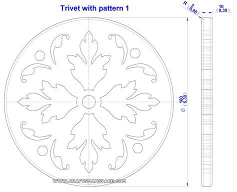 trivet  pattern plan