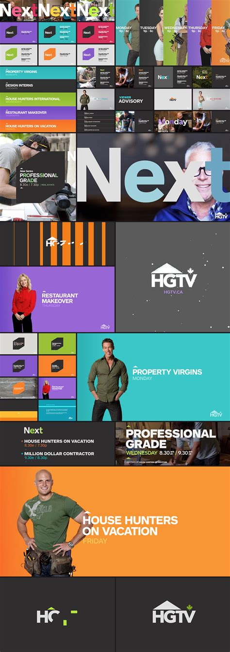 Hgtv Canada Identity  Fonts In Use