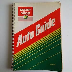 Vintage 1985 Auto Guide Super Shop Bp Car Parts Shop