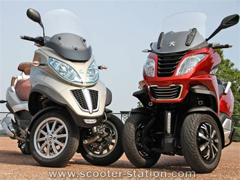 peugeot 3 roues comparatif piaggio mp3 500ie lt vs peugeot metropolis 400 i scooter