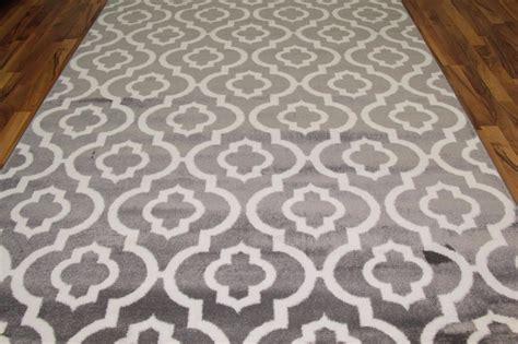 5x7 grey rug 3028 gray white modern moroccan trellis 2x3 5x7 8x10