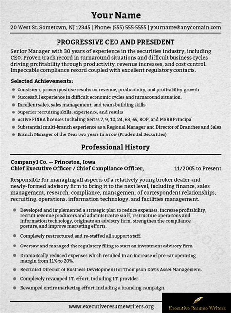 Executive Resume Writer by 18 Best Executive Resume Writers Images On