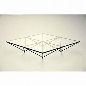 Table Basse Metal Verre : table basse verre metal design table basse maison boncolac ~ Mglfilm.com Idées de Décoration