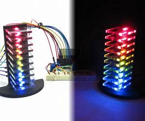 Mini Led Volume Towers  Vu Meters   13 Steps  With Pictures