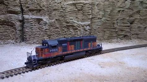 HO Broadway Pioneer Railcorp PREX SD40-2 #133 DCC & Sound ...
