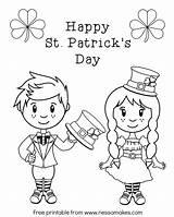 Coloring Pages Irish St Patrick Leprechaun Printable Female Patricks Adults Printables Sheet Drawing Happy Getcolorings Leprechauns Getdrawings Downloads Popular Colorings sketch template