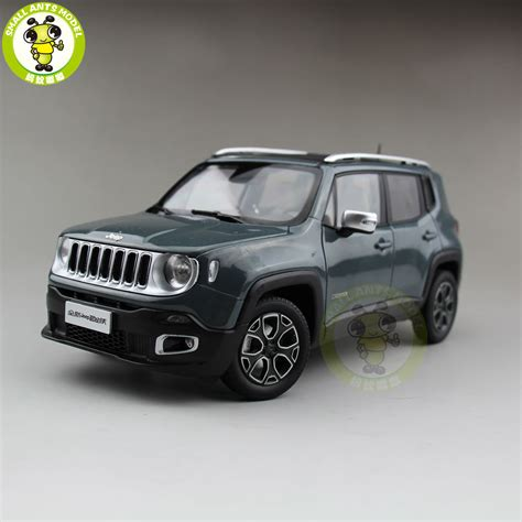 jeep models list 1 18 jeep renegade cherokee diecast metal car suv model